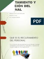 Reclutamiento y Selección de Personal Sociología