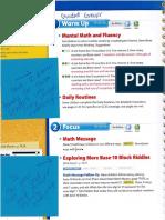 math manual reflection