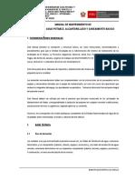 Manual de Operación y Mantenimiento