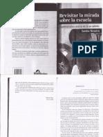 Revisitar La Mirada Sobre La Escuela-SANDRA NICASTRO