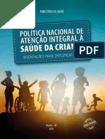 Política Nacional de Atenção Integral à Saúde Da Criança - PNAISC