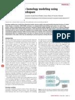 SWISS MODEL Homology Modeling Protocol