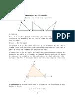 Definiciones Fundamentales Del Triángulo