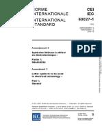 IEC 60027-1-1992 amd2-2005