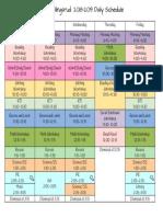 gullingsrud-schedule 2018-2019