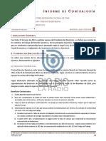 Informe Contraloria sobre TVN