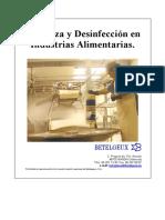 Limpieza y Desinfección en Industria de Alimentos