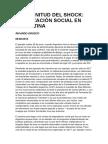 LA MAGNITUD DEL SHOCK-Movilización Social en Argentina