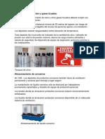 Almacenamiento de Cloro y Gases Licuados