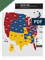 Gasoline Tax Map