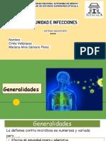 INMUNIDAD E INFECCIONES
