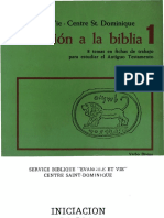 Evangile Et Vie - Iniciacion a La Biblia1