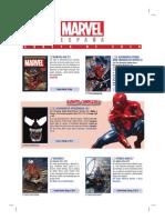 Catálogo AGOST 2018 Marvel