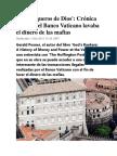 RT - Los banqueros de Dios - Crónica de cómo el Banco Vaticano lavaba el dinero de las mafias.docx