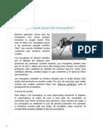3 Por Qué Pican Los Mosquitos