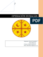OPERACION HURACAN-Informe Final Jueves