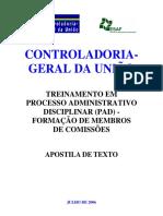 Apostila Processo Administrativo Disciplinar