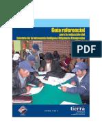 [Guía] Redacción Del Estatuto de La Autonomía Indígena Originario Campesina (2009)