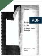Los Origenes Del Caracter en El Nino PDF