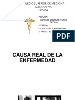 CAUSA  REAL DE LA ENFERMEDAD.pptx