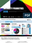 2018 IDG Security Priorities Survey