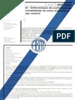 ABNT NBR 14545 - 2000 - Solo - Determinação do Coeficiente de Permeabilidade.pdf