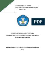 02 Bahan Materi Bimtek K 13  PPKN.pdf
