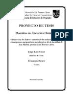 Proyecto Tesis MRH - Fernando Rouco