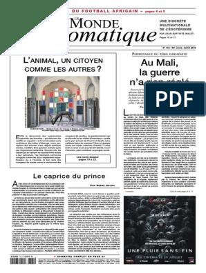 Le Monde Diplomatique 2018 07 Francisco Franco France