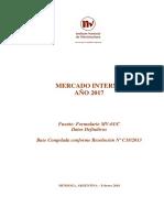Mercado Interno Año 2017