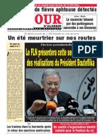 Journal Le Jour d Algerie Du 08.08.2018