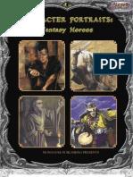 Character Portraits - Fantasy Heroes