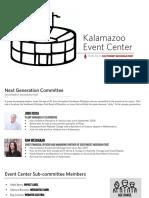 Southwest Michigan First Event Center Proposal