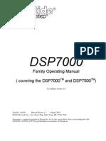 DSP 7000 Family Operating Manual