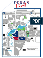 Texas Live! parking map