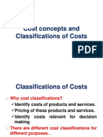 2-Classifications of Costs