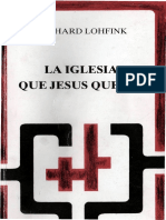 LOHFINK, G., Jesús de Nazaret. Qué quiso, quién fue, Herder, Barcelona 2013