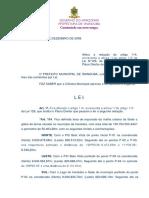 LEI Nº 144 - Alteração Do Plano Diretor de Iranduba