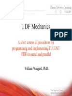 UDF Mechanics