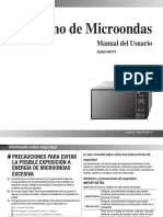 Microondas AGE614W XPE 03228B-01