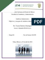 Conceptos de Auditoria Administrativa