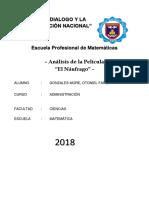 Pelicula El Naufrago