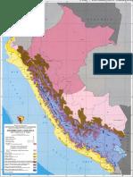 Mapa Distribucion Climatica Perú