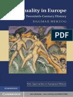Dagmar Herzog - Sexuality in Europe. a Twentieth-Century History [2011][a]