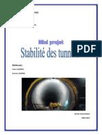 Page de Garde Tunel