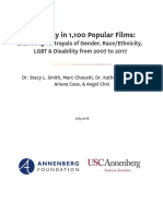 Inequality in 1,100 Popular Films