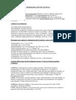 Guía de Clase. Administración de Justicia