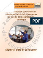 Materiales Conductor