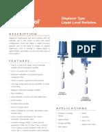 45-115.29 Displacer Type Liquid Level Switches