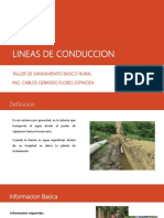 Lineas de Conduccion